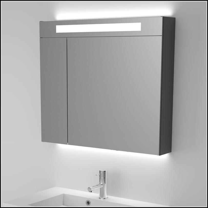 Spiegelschrank Bad Mit Beleuchtung 80 Cm