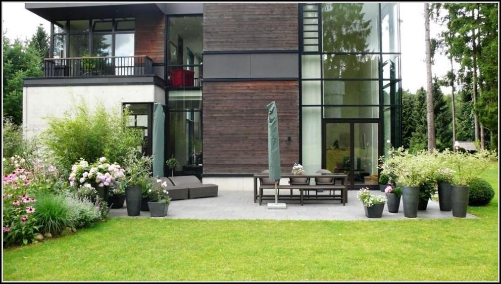 terrasse gestalten garten modern garten house und. Black Bedroom Furniture Sets. Home Design Ideas