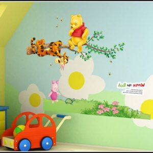Wandsticker Kinderzimmer Winnie Pooh