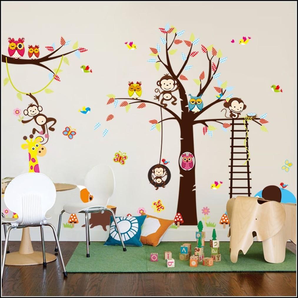 Wandsticker Tiere Kinderzimmer Kinderzimme House Und