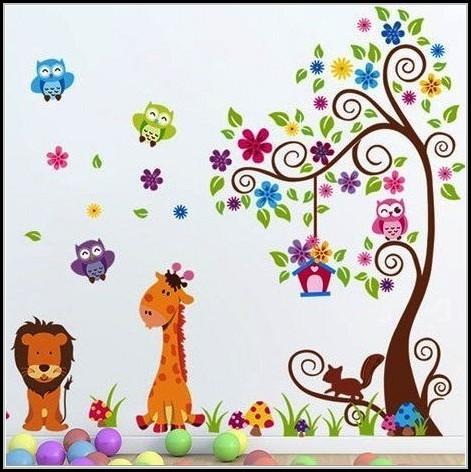 Wandtattoo Baum Kinderzimmer Amazon