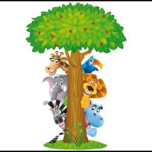 Wandtattoo Kinderzimmer Dschungel - Kinderzimme : House und Dekor ...