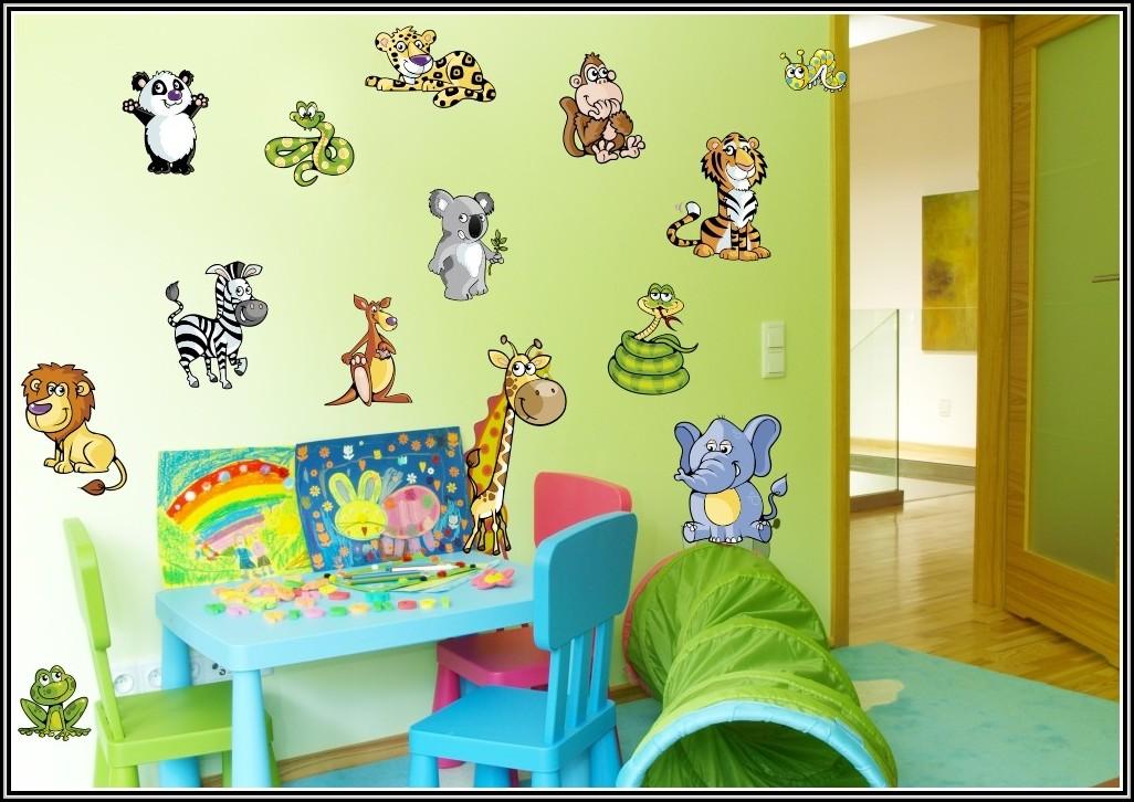 Wandtattoo kinderzimmer tiere set kinderzimme house for Wandtattoo kinderzimmer tiere