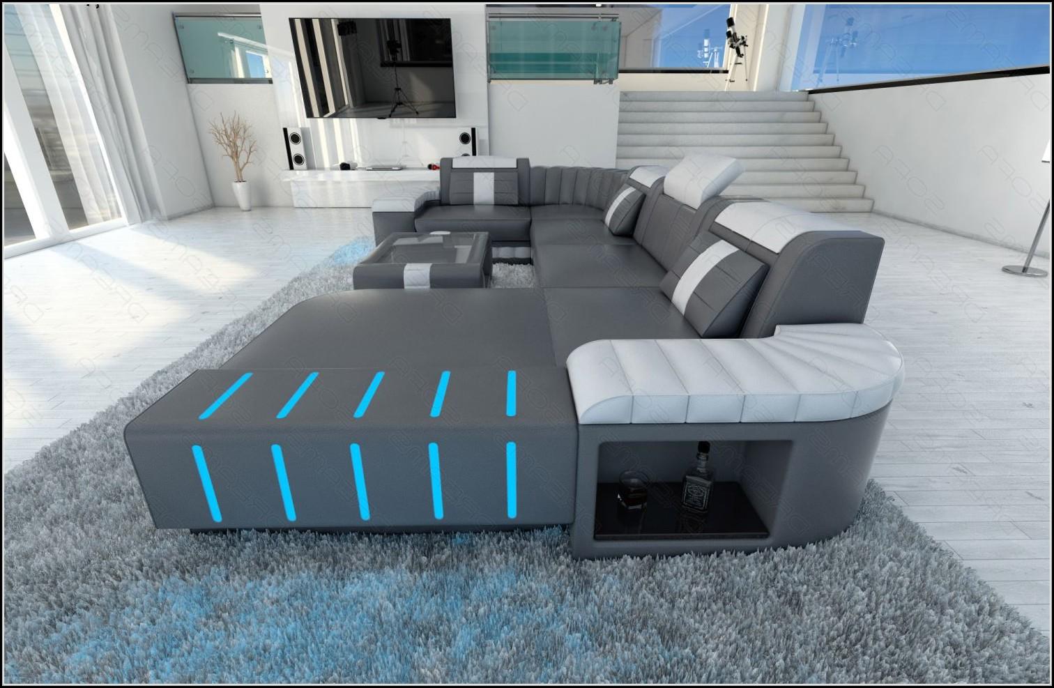 wohnlandschaft mit led beleuchtung beleuchthung house und dekor galerie re1qzp3ryd. Black Bedroom Furniture Sets. Home Design Ideas