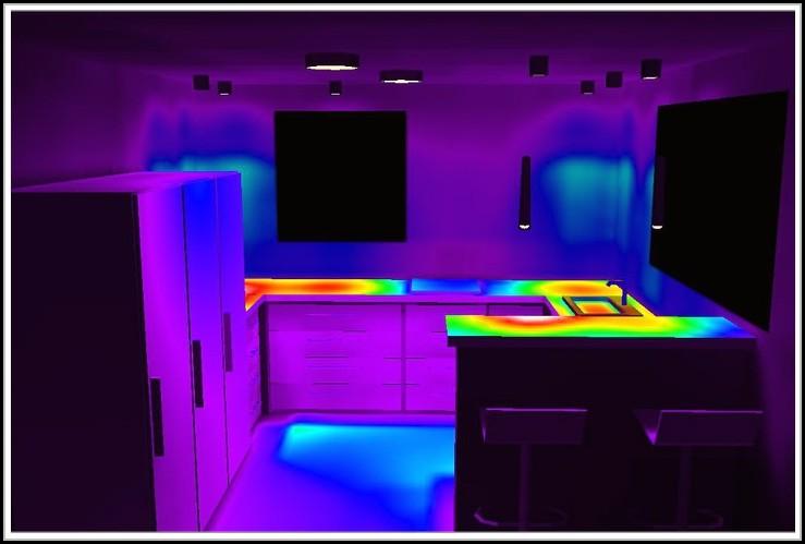 Zimmer Mit Led Streifen Beleuchtung