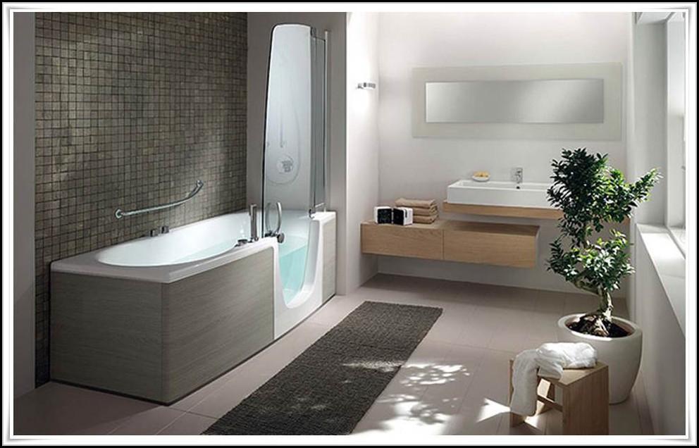 begehbare badewanne mit dusche badewanne house und. Black Bedroom Furniture Sets. Home Design Ideas
