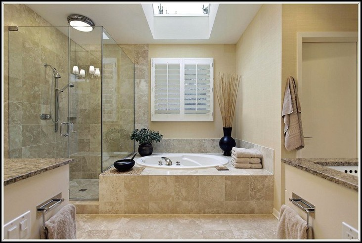 Duschkabine Neben Badewanne Kunststoff