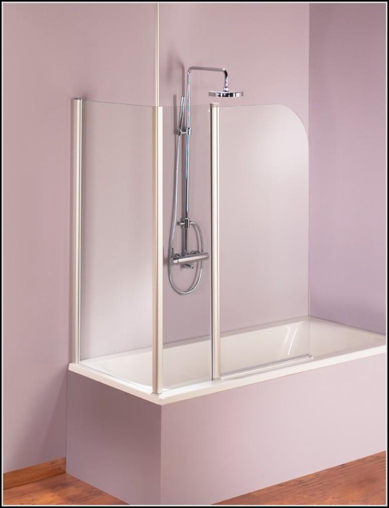 Duschwand Fr Badewanne Mit Seitenwand