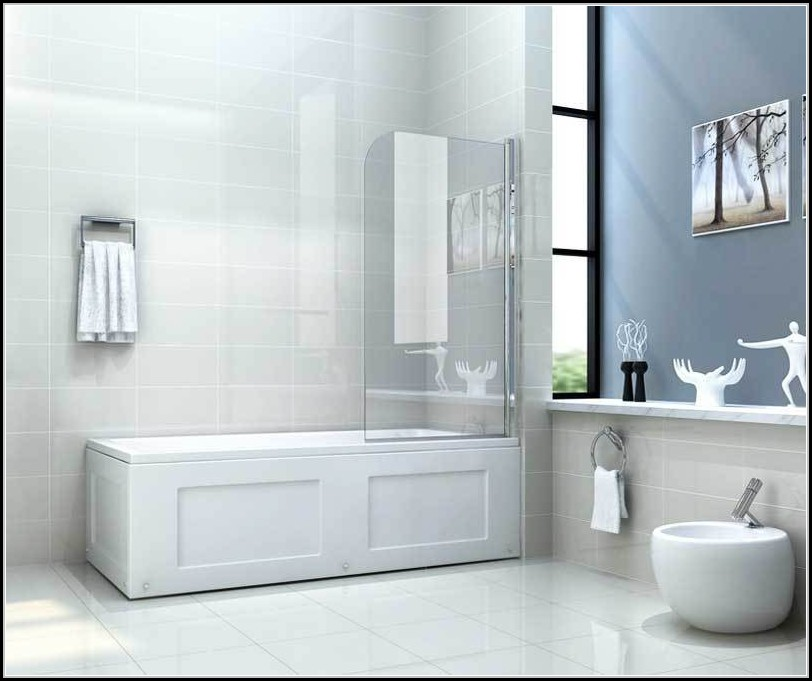 Duschwand Fr Badewanne Ohne Bohren