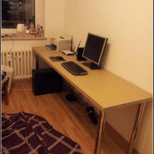 Arbeitsplatte Schreibtisch Bauen