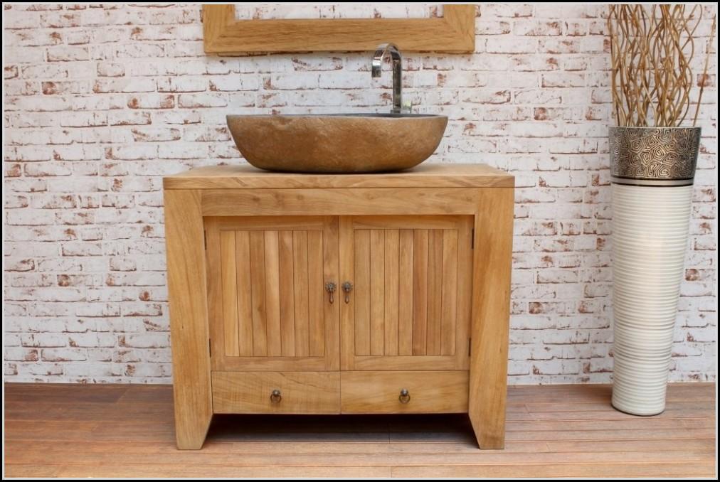 Badezimmer unterschrank holz schubladen badezimmer for Badezimmer unterschrank holz