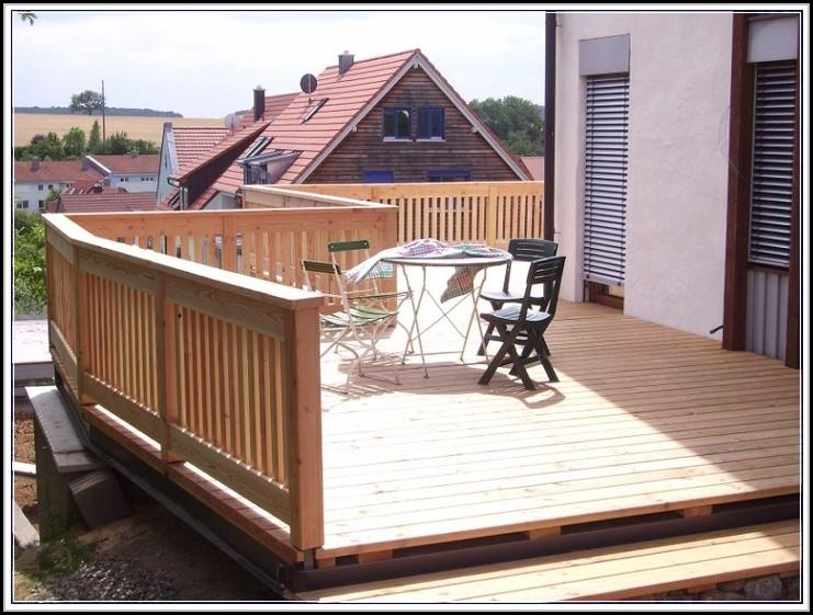 Balkon Aus Holz Selber Bauen Genehmigung