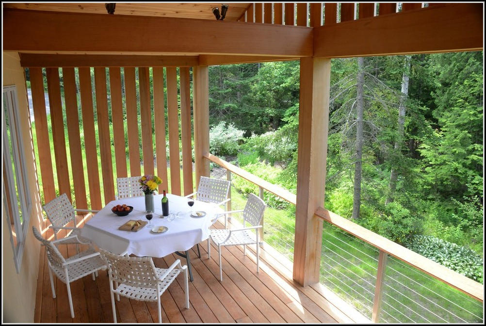 Balkon Sicht Und Windschutz Taupe