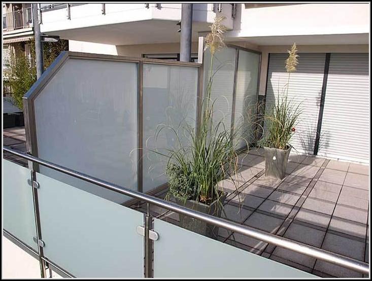 Balkon Sichtschutz Glas Alu Balkon House Und Dekor Galerie