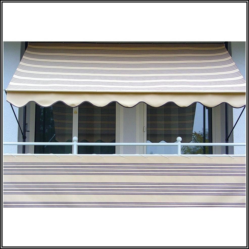 balkon sichtschutz klemm markisen balkon house und. Black Bedroom Furniture Sets. Home Design Ideas