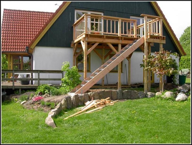 Balkon Treppe Selber Bauen