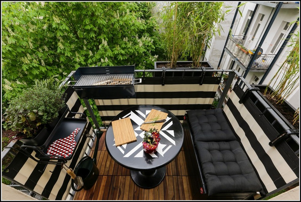 kleiner garten auf dem balkon balkon house und dekor galerie re1qqaa1yd. Black Bedroom Furniture Sets. Home Design Ideas