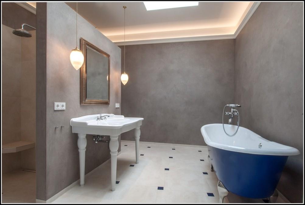 Living at home wandgestaltung im badezimmer badezimmer - Badezimmer wandgestaltung ...