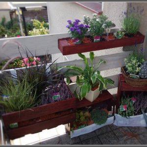 Mini Garten Auf Dem Balkon