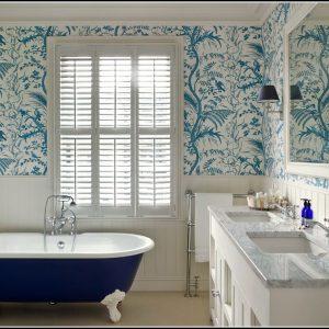 Mlleimer Badezimmer Blau