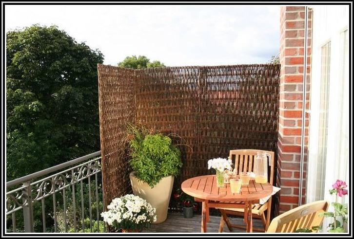 Sichtschutz Balkon Holz Selber Bauen