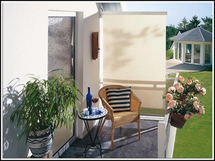 Sichtschutz Balkon Seitlich Pflanzen