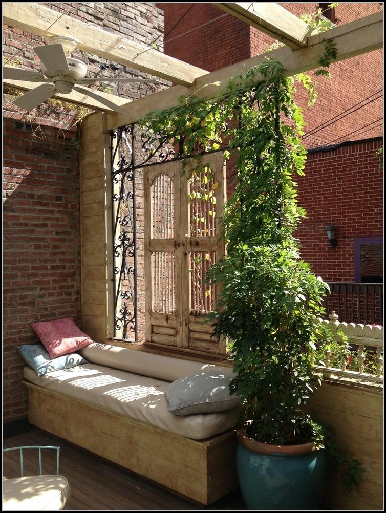 Sichtschutz Fr Balkon Pflanzen