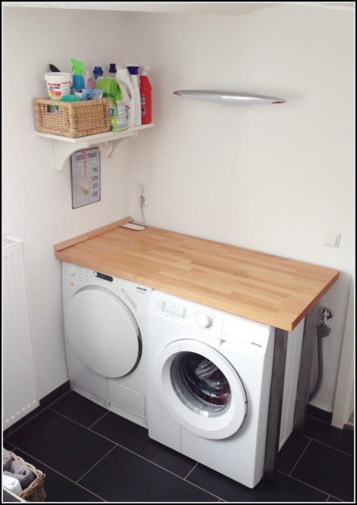 Waschmaschine Unter Arbeitsplatte Arbeitsplatte House Und Dekor
