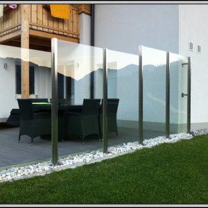 Windschutz Balkon Aus Glas