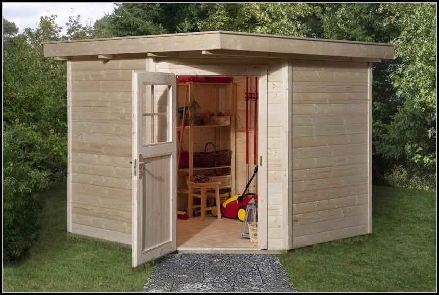 5 Eck Gartenhaus Modell Sunny A