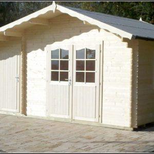 Aufbau Gartenhaus Holz
