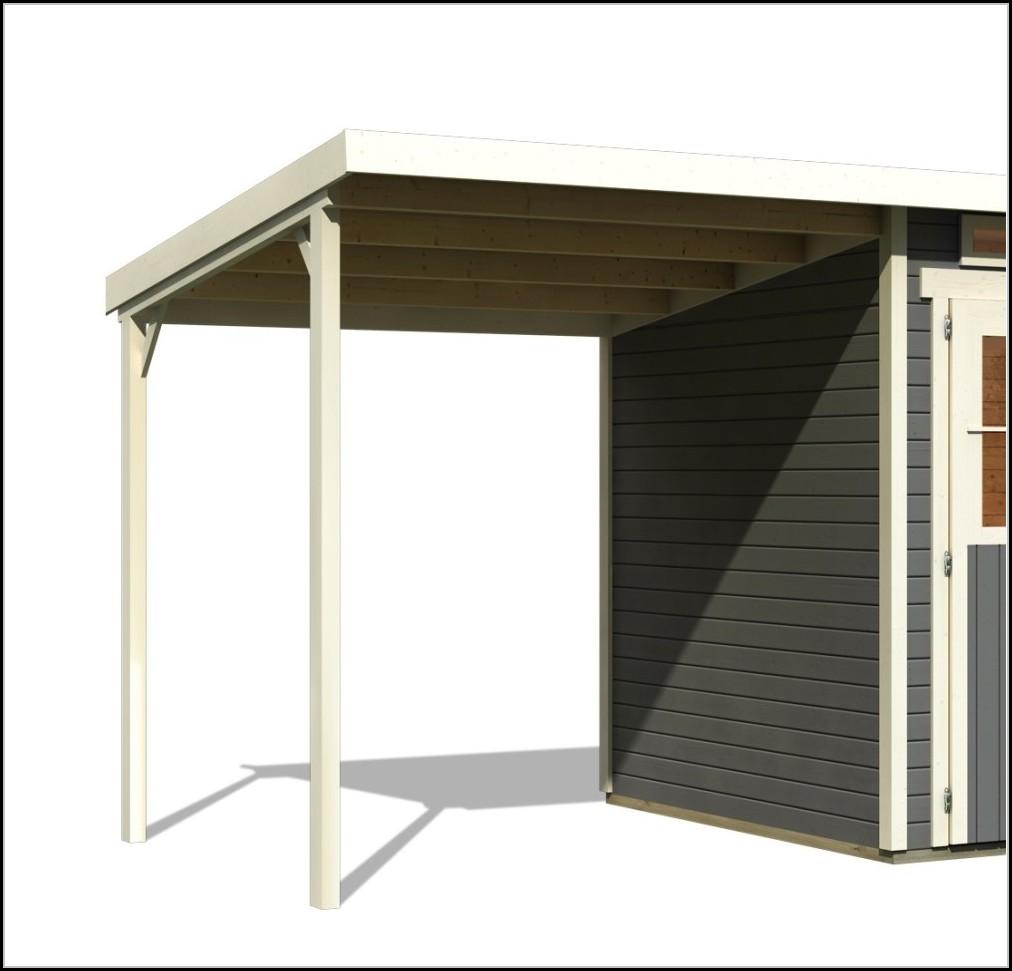 Bauanleitung Gartenhaus Doppelpultdach