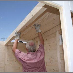 Bauanleitung Gartenhaus Malta 2