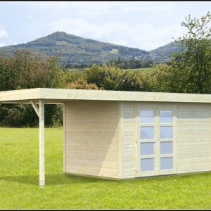 Bausatz Gartenhaus Stein