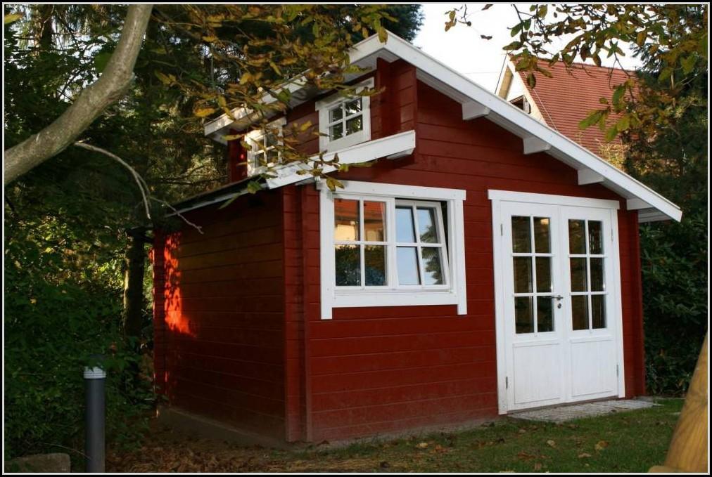 Blockhaus Gartenhaus Bausatz