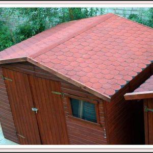 Dach Gartenhaus Decken