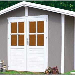 Farbe Gartenhaus Grau