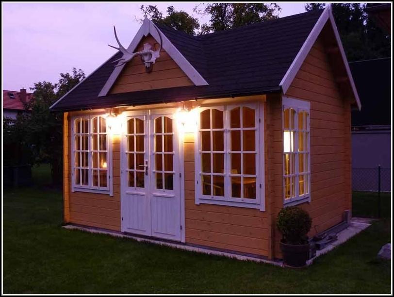 Farbe Gartenhaus Streichen