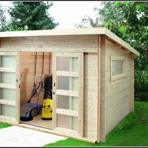 Gartenhaus 2 Raum 40mm
