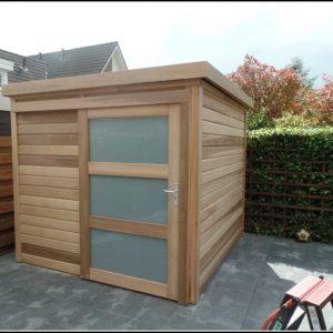 Gartenhaus 3 X 3 M Flachdach