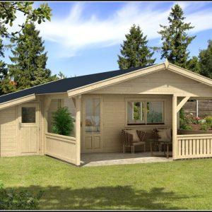 Gartenhaus 5x5 Mit Terrasse