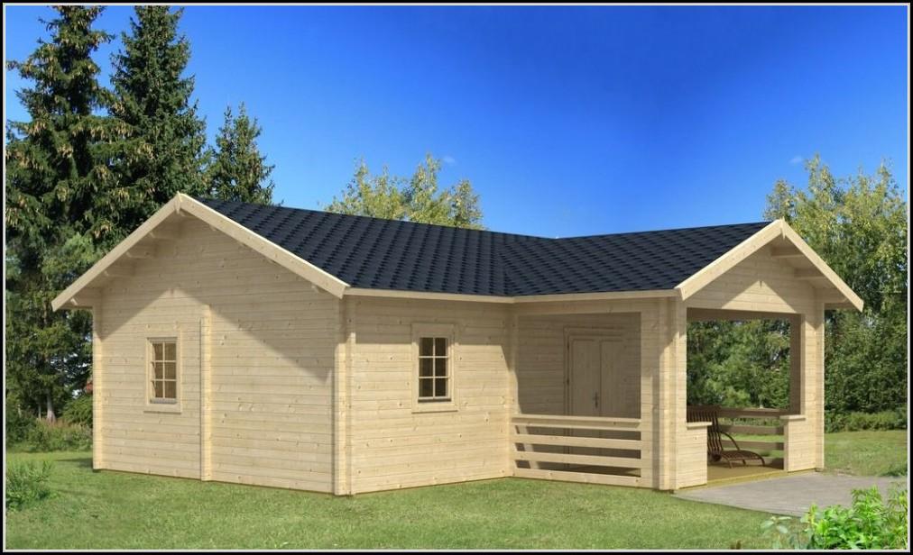 Gartenhaus Blockhaus Mit Schlafboden