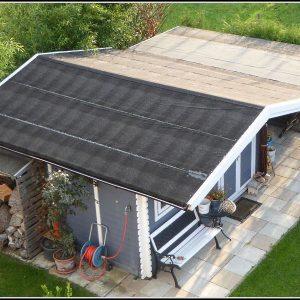 Gartenhaus Dach Abdichten