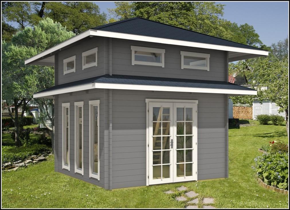 Gartenhaus Design Bauplan