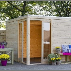 Gartenhaus Design Kubus