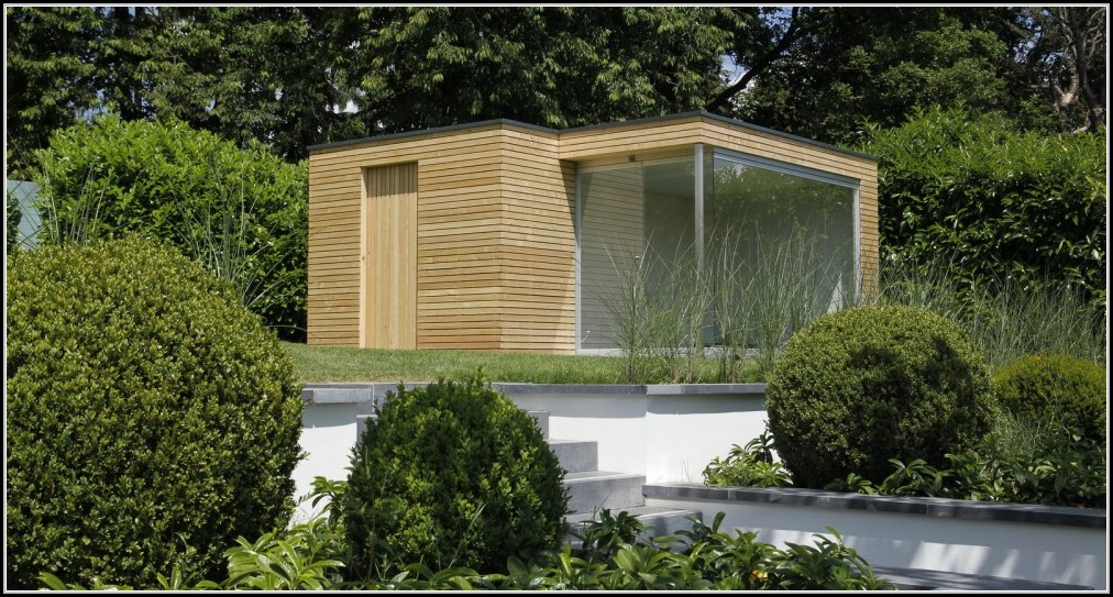 Gartenhaus Design Modern