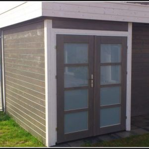 Gartenhaus Flachdach Modern