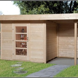 Gartenhaus Flachdach Selber Bauen Anleitung