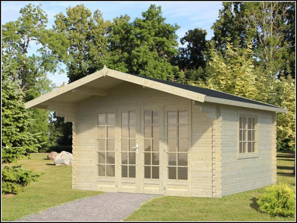 Gartenhaus Glas Stahl