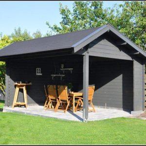 Gartenhaus Grau Modern